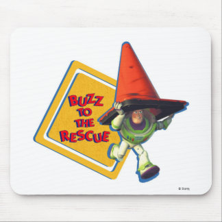 Buzz Lightyear to the Rescue Mouse Pad