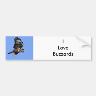 Buzzard  3 bumper sticker