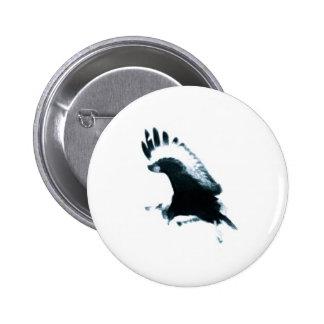 Buzzard 6 Cm Round Badge