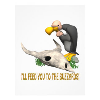 Buzzards Personalized Flyer