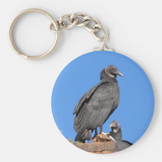 Buzzards Looking At You Key Rings Basic Round Button Key Ring