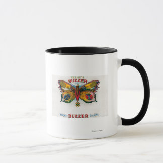 Buzzer Cigar Box Label Mug