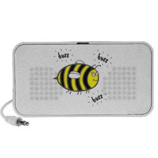 Buzzing Bee Mp3 Speakers