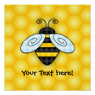 Buzzing Bumblebee and Honeycomb Icon
