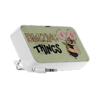 Buzzing Things Doodle speaker
