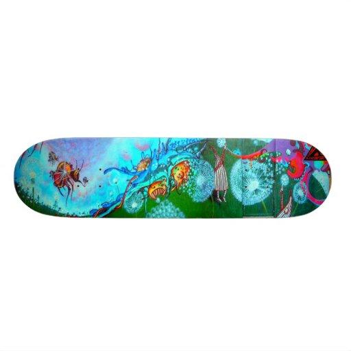BuzzMaster Street Art Skateboard