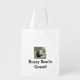 Buzzy Bee'in Great! Reusable Tote Bag