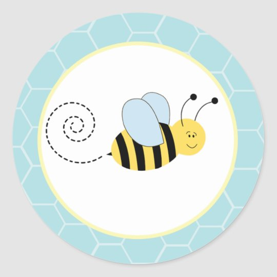 Buzzy Bees Bumble Bee Envelope Seals / Toppers