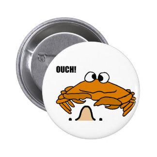 BV- Crab Honking Nose Cartoon 6 Cm Round Badge