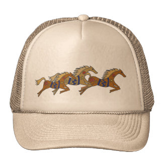 BV- Galloping Horses Hat