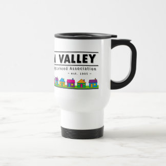 BVNA White Travel Mug
