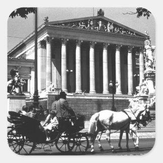 BW Austria Vienna parliament 1970 Stickers