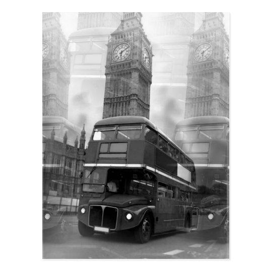 BW Black & White London Bus & Big