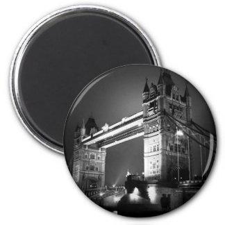 BW Black & White London Tower Bridge Magnets