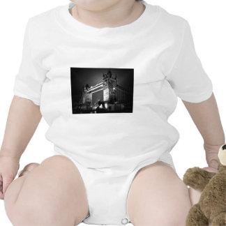 BW Black White London Tower Bridge T Shirts