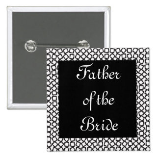 BW Father 15 Cm Square Badge