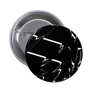 BW Glitch 3 (BW) 6 Cm Round Badge