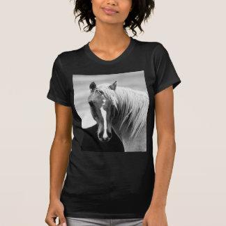 BW Horse Portrait T-Shirt