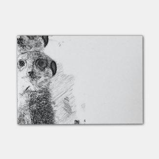 BW Meerkats 315 Post-it® Notes