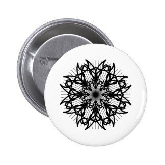 bw-rosette2_Vector_Clipart black white shapes trib Button