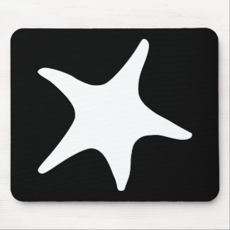 BW Starfish Mouse Mat