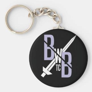 BWBTC On the Go! Basic Round Button Key Ring