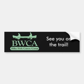 BWCA / Hike Fish Canoe Camp Bumper Sticker