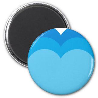 BWhaleAFP12 6 Cm Round Magnet