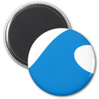 BWhaleAFP15 6 Cm Round Magnet