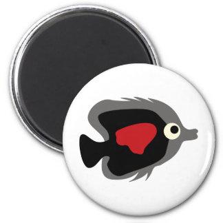 BWhaleAFP1 6 Cm Round Magnet