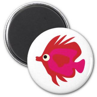 BWhaleAFP2 6 Cm Round Magnet