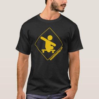 BWOL logo - yellow on black T-Shirt