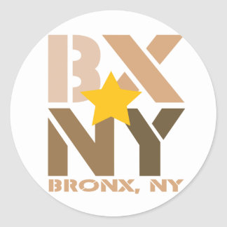 BX Bronx Brown Sticker