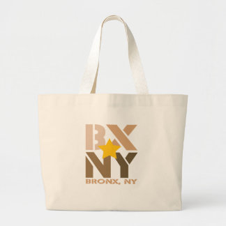 BX Bronx Brown Tote Bag