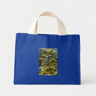 By a small waterfall bags