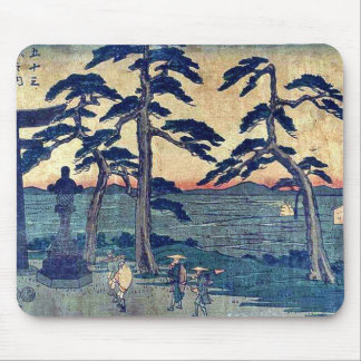 by Ando, Hiroshige Ukiyo-e. Mouse Pad