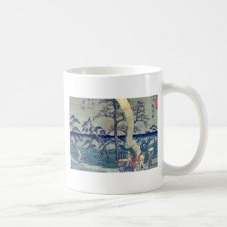 by Ando, Hiroshige Ukiyo-e. Mug