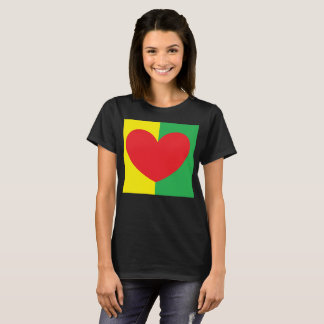 by Cinnamon A heart full of love t-shirt