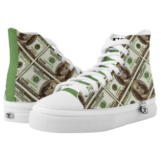 by Eddie Monte' About dat money T-shirt High Tops