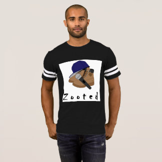 by Eddie Monte' Microphone Zooted T-shirt