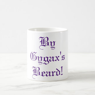 By Gygax's Beard! Basic White Mug