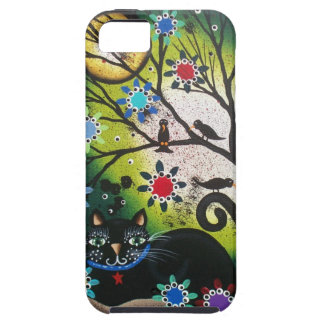 By Lori Everett_Day Of The Dead_Black Cat,Cats iPhone 5 Case