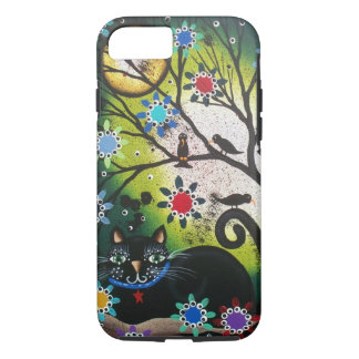 By Lori Everett_Day Of The Dead_Black Cat,Cats iPhone 7 Case