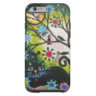 By Lori Everett_Day Of The Dead_Black Cat,Cats Tough iPhone 6 Case