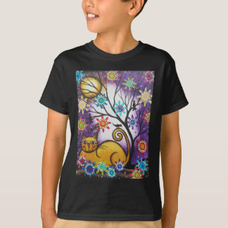 By Lori Everett_ Day Of The Dead_Mexican_Cat T-Shirt