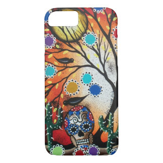 By Lori Everett_ Day Of The Dead,Skull,Mexican,DOD iPhone 7 Case