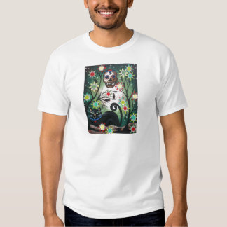 By Lori Everett_ Day Of The Dead, Skull, Mexican Shirts