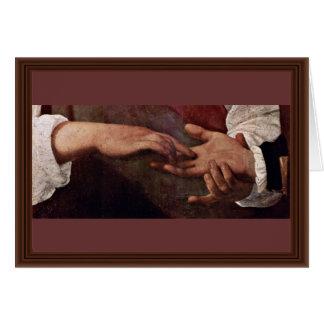 By Michelangelo Merisi Da Caravaggio Greeting Card