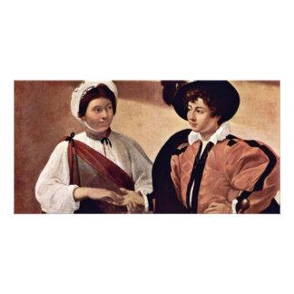 By Michelangelo Merisi Da Caravaggio Personalized Photo Card
