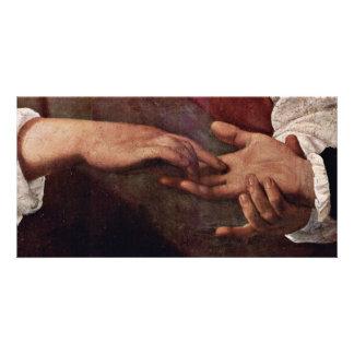 By Michelangelo Merisi Da Caravaggio Photo Greeting Card